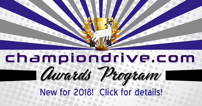 Championdrive.com Awards Program